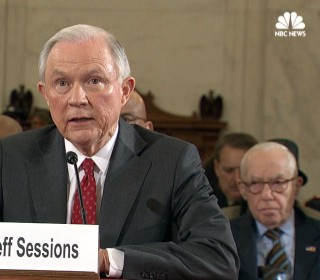 Sessions Says He Will Recuse Himself from Any Clinton Investigations
