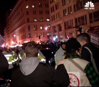 Anti-Trump Protesters Take to Streets