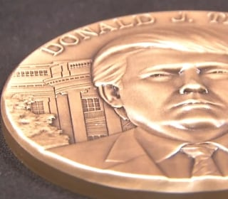 Take A Look At Trump's Inauguration Medals