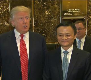Trump Touts Small Business Action with Alibaba's Jack Ma