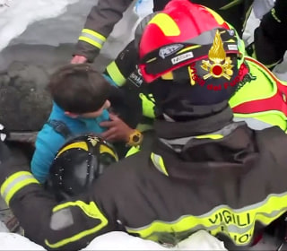 'Bravo!': Survivors Pulled From Hotel Buried by Avalanche