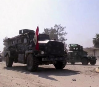 U.S.-Backed Iraqi Forces Continue Assault on Mosul, Retake Airport