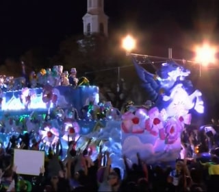 Watch Live :  Endymion Parade Rolls in New Orleans