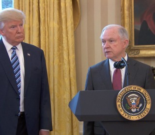 Sessions Expresses Gratitude, Determination After Taking Oath