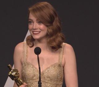 Emma Stone on 'Moonlight' Announce: 'Is That The Craziest Oscar Moment of All Time?'