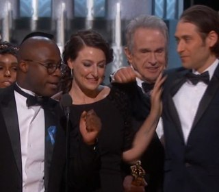 Watch the Moment 'La La Land' Won 'Moonlight's' Best Picture Oscar