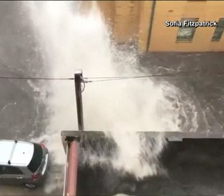 Storm Batters Sydney, Australia, Causing Floods