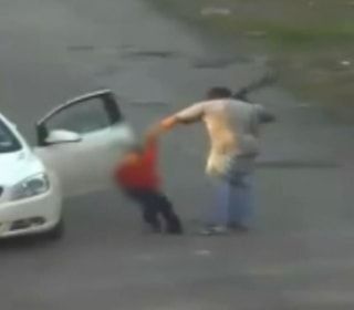 Caught On Camera: Man Arrested After Brutal Beating of Child