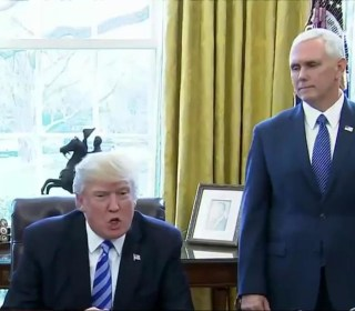 Trump blames Republicans for failure of GOP health care bill