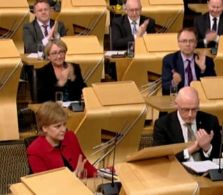 Scottish Lawmakers Vote to Seek New Independence Referendum