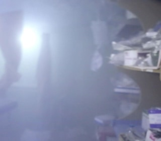 Video Captures Airstrike Hitting Syrian Gas Attack Hospital
