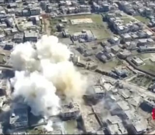 U.S. Airstrike Targets Forces Loyal to Syria's Assad