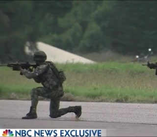 NBC News Exclusive: A Look at Taiwan's Military Drills as China Looms