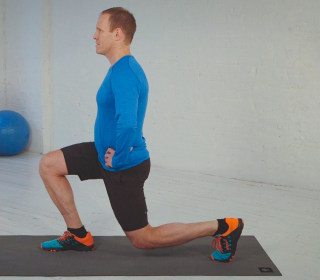 How to Lunge Better: Try This Move to Help Achy Knees