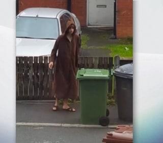 Manchester Arena Bomber Filmed Taking out Trash