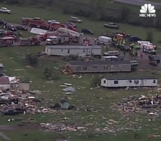 Two Killed as Tornadoes Sweep Texas, Midwest