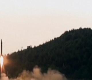 North Korean TV Hails Latest Ballistic Missile Test