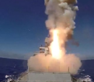 Russian Cruise Missiles Hit ISIS Targets in Syria