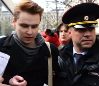 Gay Rights Activists Detained by Moscow Police