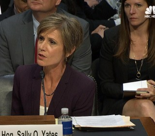 Yates Says She 'Personally Wrestled' Over Decision on Travel Ban Order