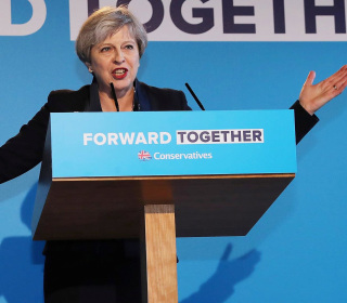 PM May Launches Tory Manifesto for U.K. General Election