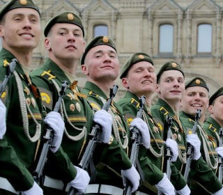 Red Square Victory Day Parade Celebrates Russia's Military Might