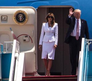 President Trump arrives in Tel Aviv, urges peace in Middle East