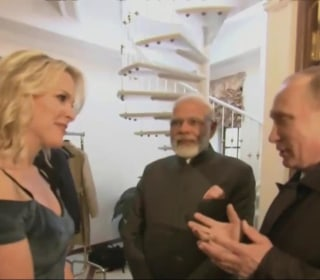 Megyn Kelly Talks to Russians About the US, Interviews Pres. Putin on Friday