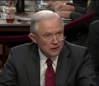 AG Sessions Defends Himself in Fiery Testimony Before Senate Intel Cmte.