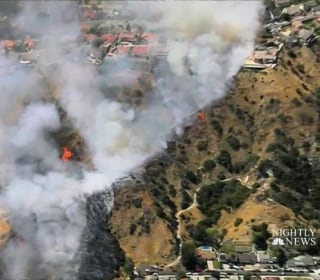 Mandatory Evacuations After Wildfire Breaks Out In California
