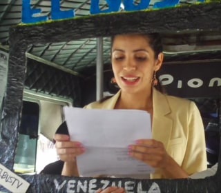 Young Venezuelan Journalists Defy Censorship With 'El BusTV'