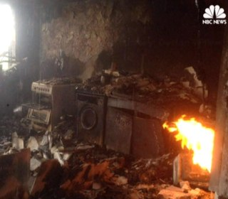 Video Shows Charred Wreckage Inside London Apartment Tower