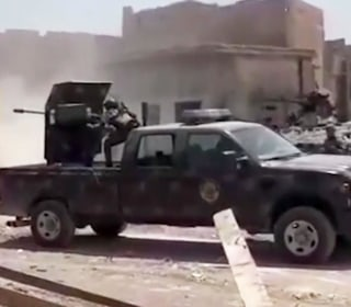 Fierce Fighting as Iraqi Troops Push into ISIS Stronghold