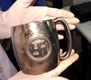 Disturbing Collection of Nazi Artifacts Discovered in Secret Room