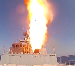Russia Fires Cruise Missiles at ISIS Targets in Syria