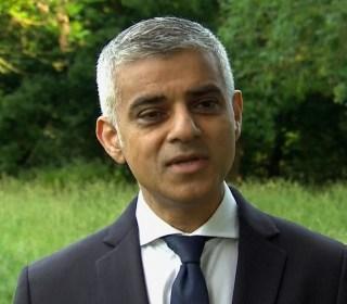 London Mayor Sadiq Khan: We Can't Let Terrorists Win