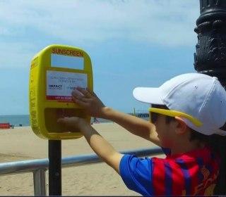 Free Sunscreen Dispensers Pop Up Across U.S.