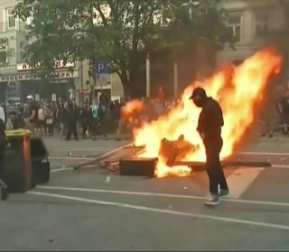 Violent Protests Continue Outside G-20 in Streets of Hamburg
