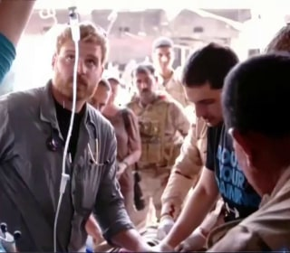 American EMT Continues Treating the Wounded in Mosul