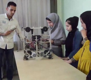 Afghan Girls Robotics Team Arrives in U.S. Intervention from Trump