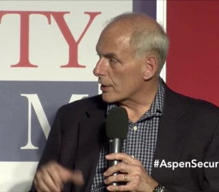 Secretary of Homeland Security John Kelly Jokes About Screening President Trump's Phone Call