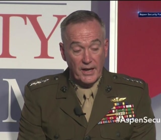 """U.S. Gen. Dunford Says Military Option for NK Not """"Unimaginable"""""""