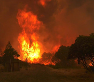Wildfire in California Doubles in Size, Threatens 1,000-Plus Homes