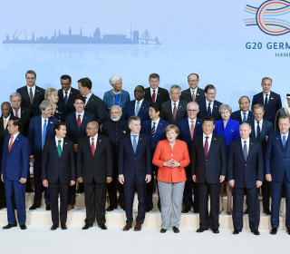 Take Your Places: G-20 Leaders Gather for 2017 Class Photo