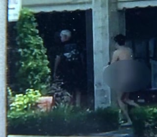 Bank Robbery Suspect Strips Naked During Escape