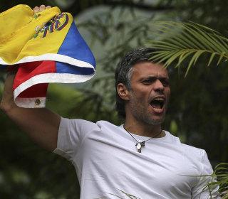 Venezuela's Opposition Leader Leopoldo Cheered After Prison Release