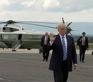 Trump Returns to Washington After Summer Break