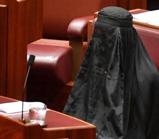 Australian Senator Caused Outrage When She Wore Burqa in Bid to Ban Them
