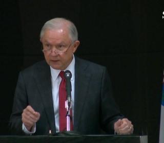 Sessions Announces New DOJ Unit to Combat Opioid Fraud