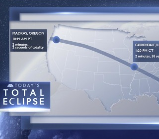 Eclipse path of totality begins in Oregon